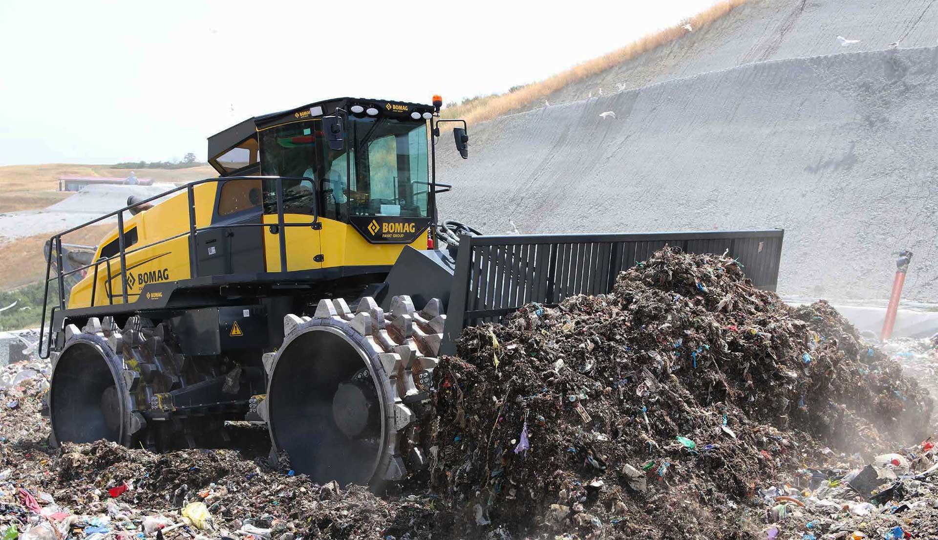 BOMAG Kompaktor odpadu
